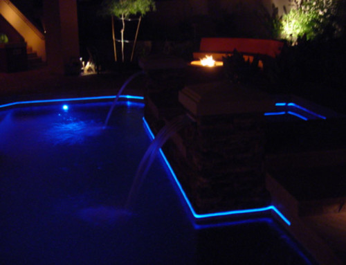 Fiber Optic Pool Perimeter