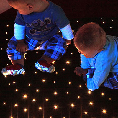 Fiber Optic Star Carpet
