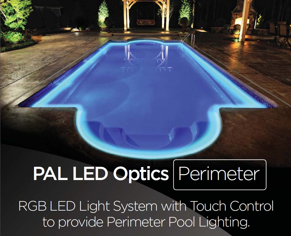 PAL LED Optics Perimeter Lighting — Fiber Creations